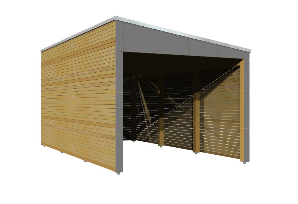 Carport moduplan eight